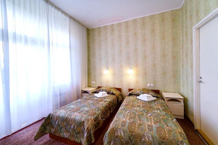 Эконом трехместный двухкомнатный в Корпусе 1 отеля Мечта, Анапа
