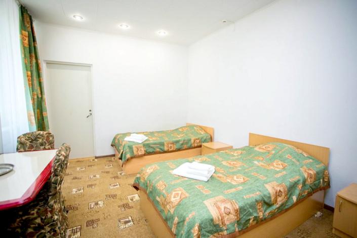Семейный трехместный двухкомнатный в Корпусе 1 отеля Мечта, Анапа