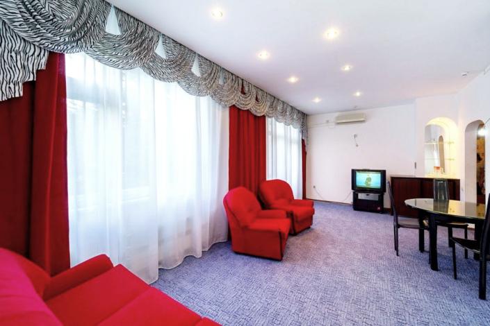 Семейный четырехместный трехкомнатный в Корпусе 1 отеля Мечта, Анапа