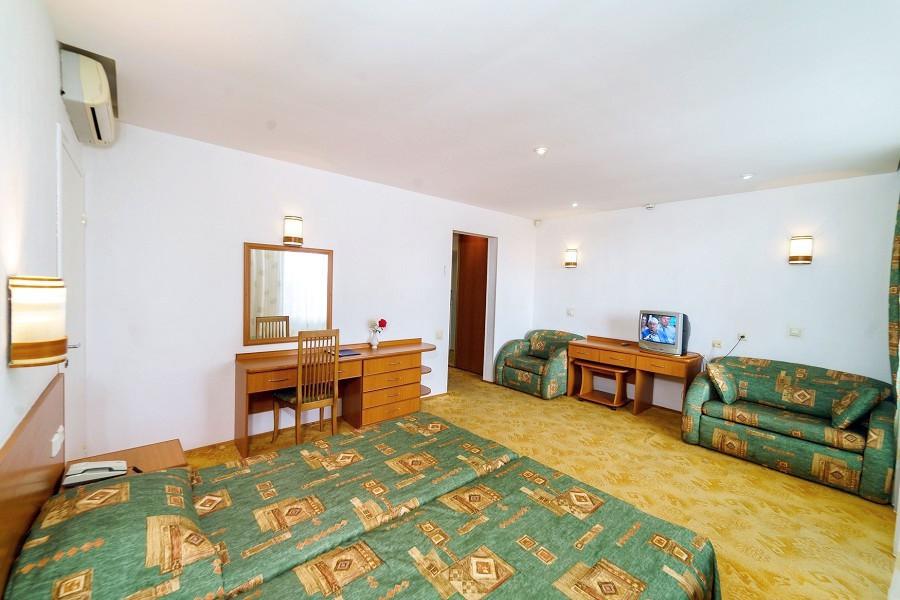 Полулюкс двухместный с видом на море в Корпусе 2 отеля Мечта, Анапа