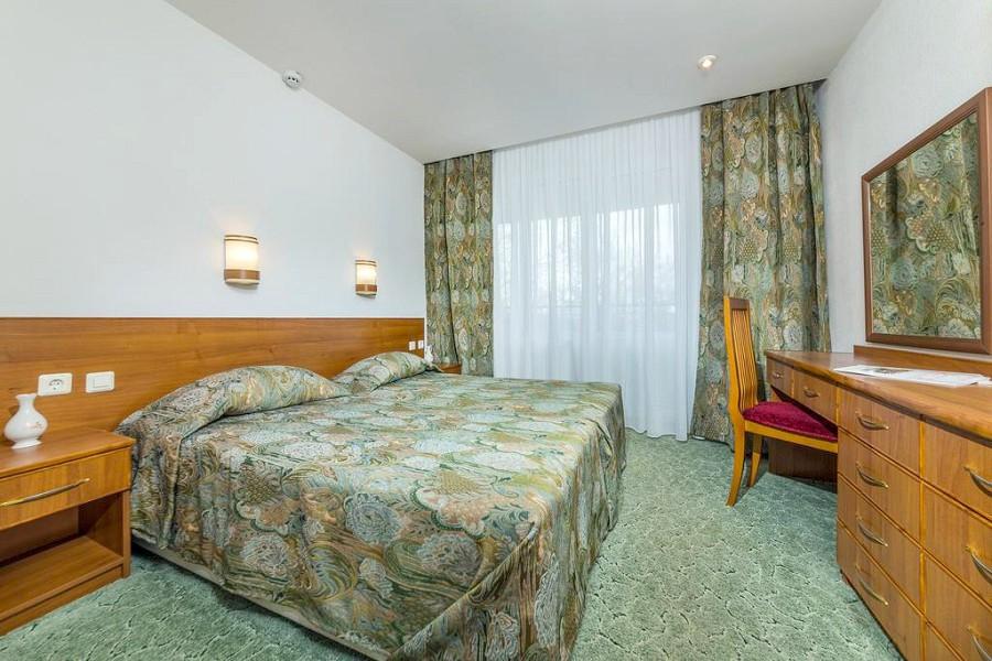 Люкс двухместный двухкомнатный в Корпусе 2 отеля Мечта, Анапа