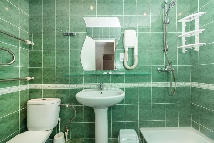 Туалетная комната номера Люкс в Корпусе 2 отеля Мечта, Анапа