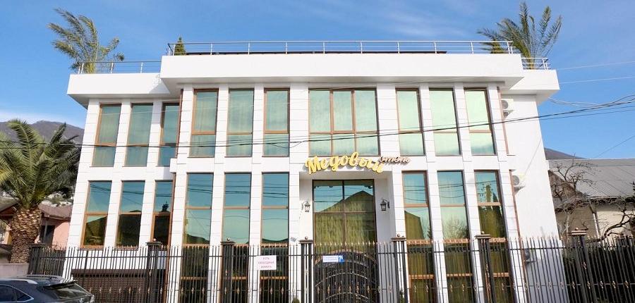 Отель Медовый, Гагра, Абхазия