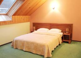 Улучшенный двухместный номер в мансарде отеля Мелодия гор