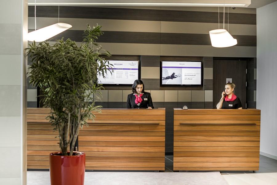 Служба приема и размещения отеля Mercure Сочи Центр