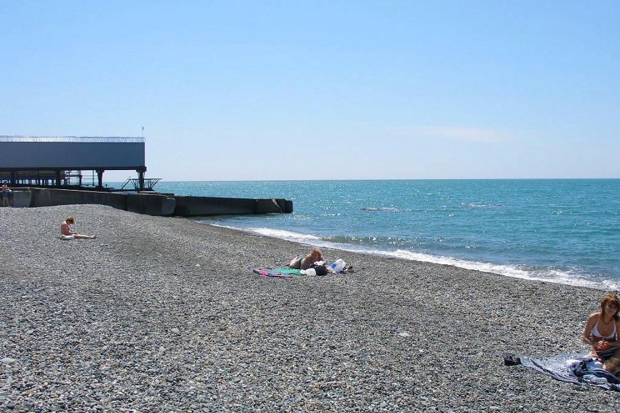 Пляж Адлеркурорт