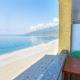 Вид на море с балкона Стандартного номера в Корпусе №2 пансионата Мидель-Гагра