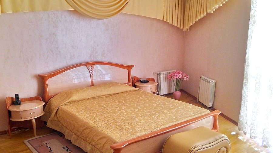 Номер Люкс двухместный двухкомнатный отеля Мирит
