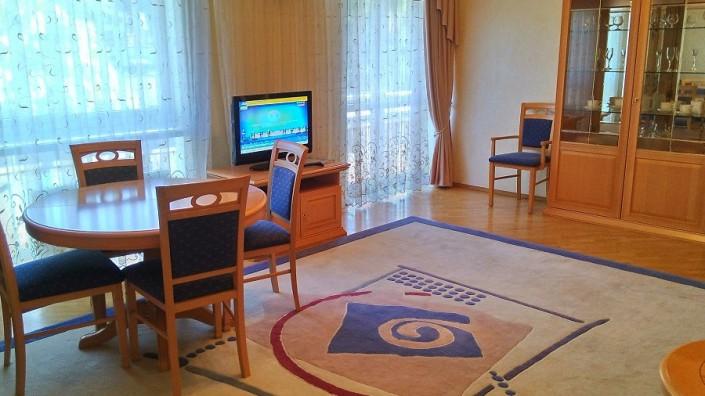 Гостиная номера Люкс двухместный двухкомнатный отеля Мирит