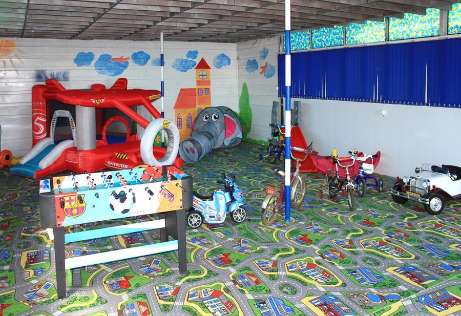 Детская игровая комната базы отдыха Мия