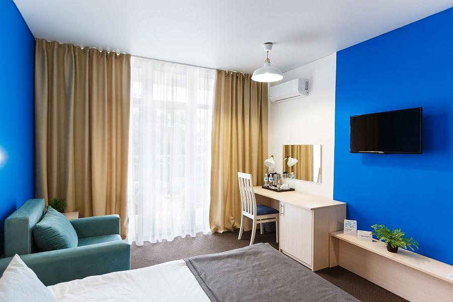 Стандартный двухместный номер отеля MoreLeto, Анапа
