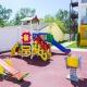 Детская площадка отеля MoreLeto, Анапа