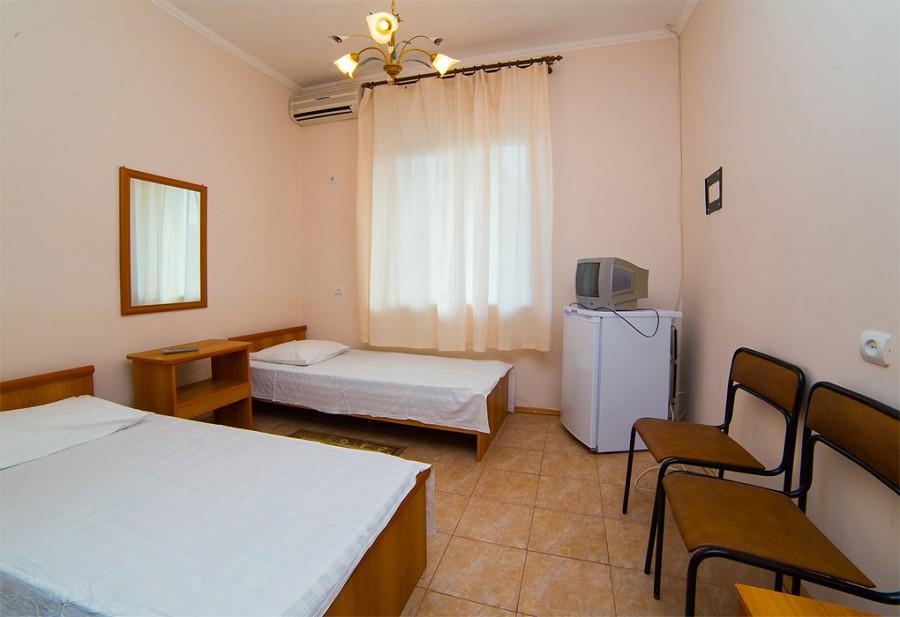 Стандартный двухместный номер гостиницы Морская