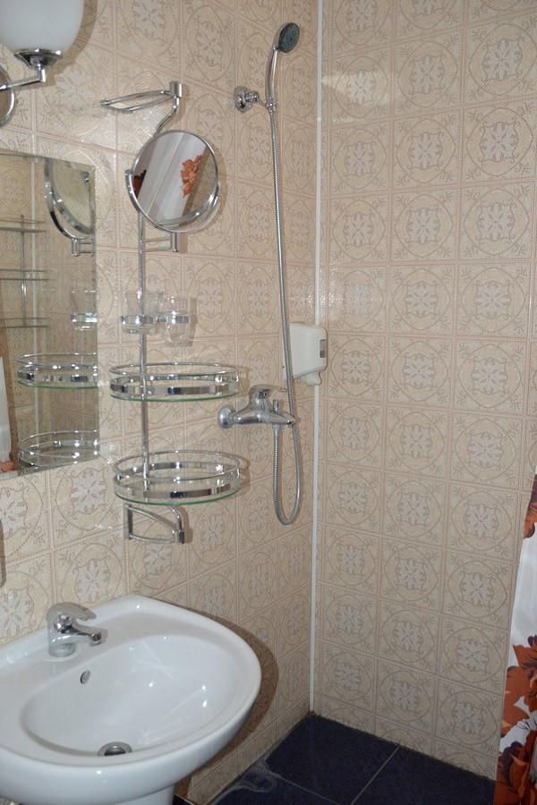 Туалетная комната в номере Студия комплекса Морская звезда