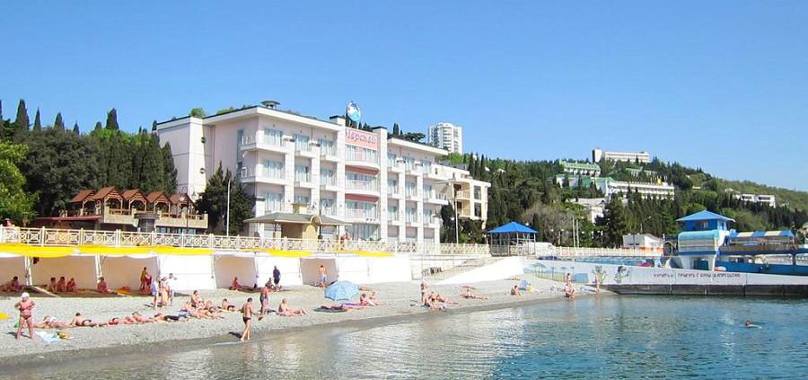 Отель Морской, Алушта, Крым, КК Миндальная роща