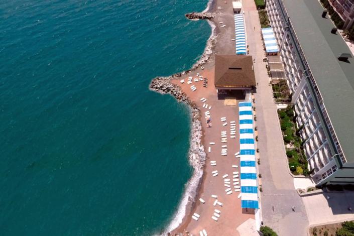 Пляж ГК Морской
