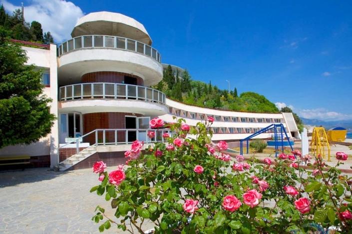 Отель Морской уголок, Алушта, Крым