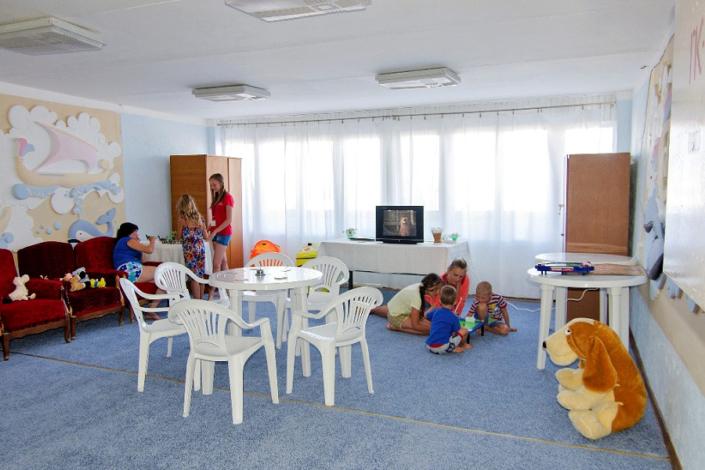 Детская комната отеля Морской уголок