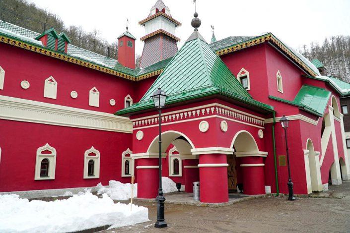 Культурно-этнографический и гостиничный комплекс Моя Россия, Красная Поляна, Сочи