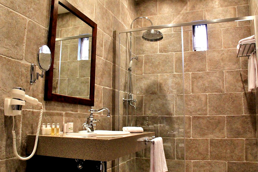 Туалетная комната в номере отеля Кавказ, ГК Моя Россия, Красная Поляна, Сочи