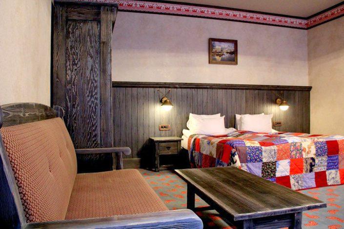 Номер в отеле Русский Север, гостиничный комплекс Моя Россия, Красная Поляна, Сочи