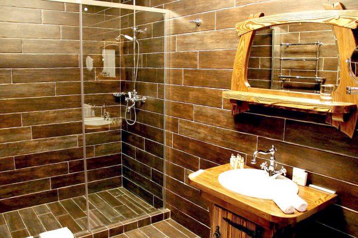 Туалетная комната в номере отеля Сибирь, ГК Моя Россия, Красная Поляна, Сочи