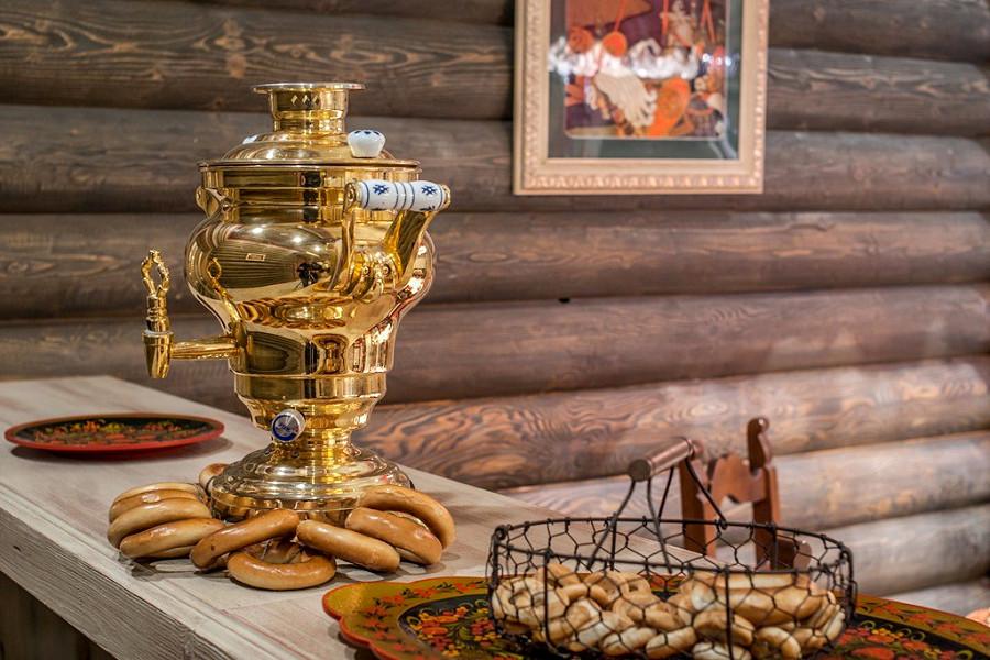 Ресторан Купеческий, культурно-этнографический комплекс Моя Россия, Красная Поляна, Сочи