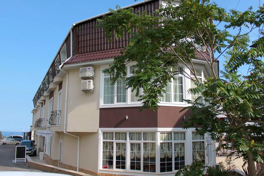 Отель Мускатель, Крым, Ялта, Гурзуф