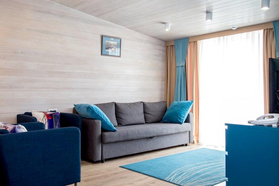 Люкс Морской двухместный отеля Мускатель