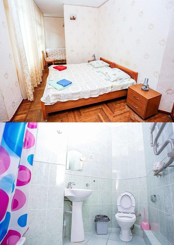 Улучшенный номер в корпусе Бриз санатория МВО Сухум