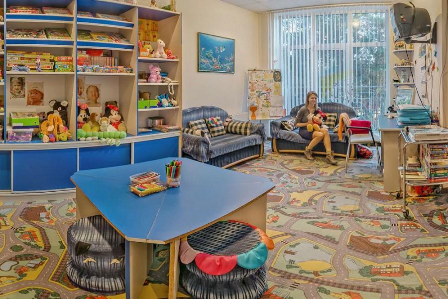 Детская игровая комната санатория Мыс Видный