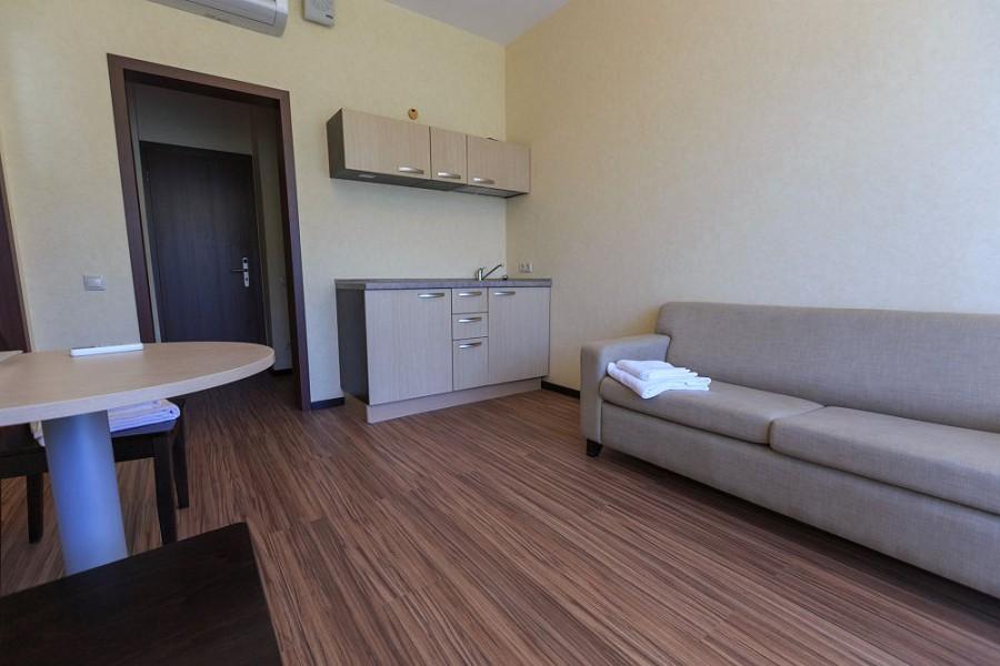 Номер Комфорт двухместный двухкомнатный в корпусе Арена санатория Мыс Видный
