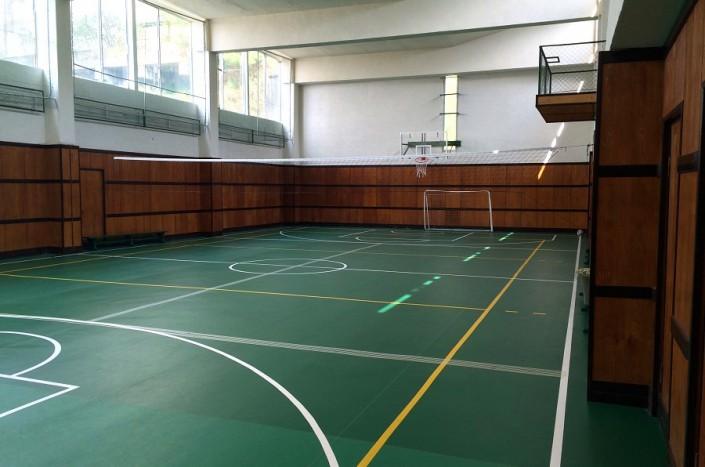 Спортивный зал пансионата Мюссера