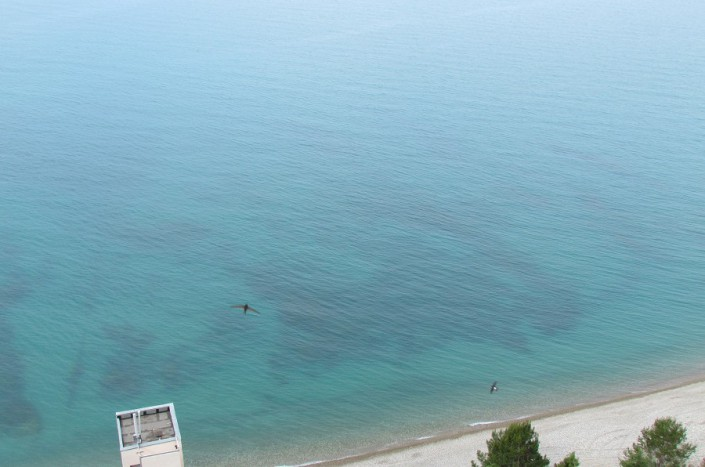 Пляж пансионата Мюссера