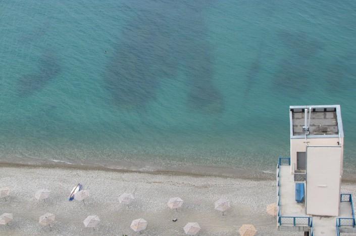 Лифт на пляж пансионата Мюссера