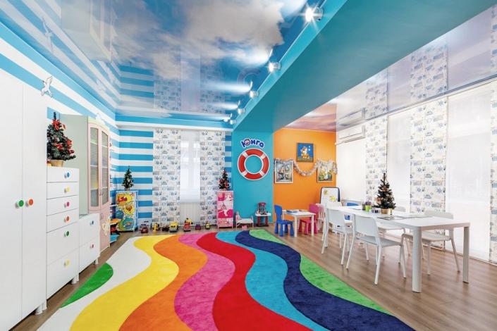 Детская комната санатория Надежда