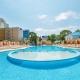 Открытый бассейн санатория Надежда