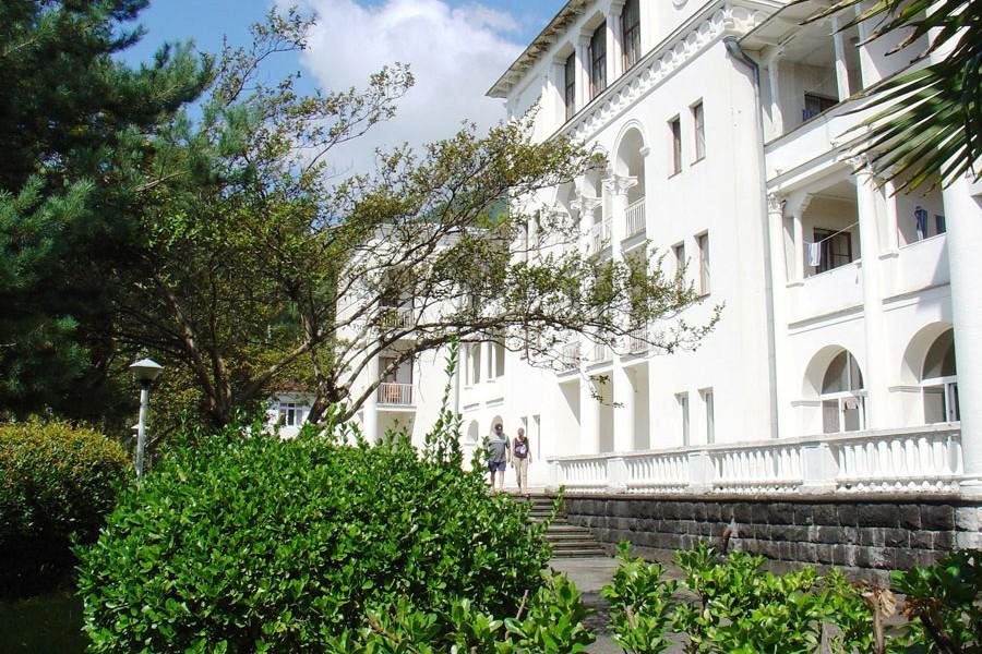 Корпус №1 пансионата Нарт, Гагра, Абхазия