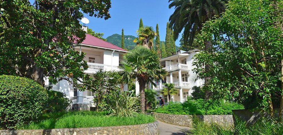 Корпус №2 и №3 пансионата Нарт, Гагра, Абхазия