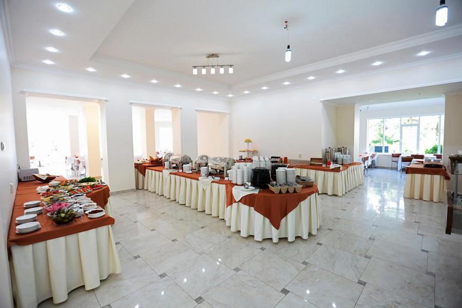 Столовая пансионата Нарт, Гагра, Абхазия