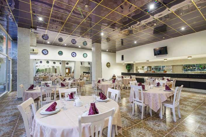 Ресторан пансионата Нева