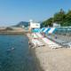 Пляж пансионата Нева