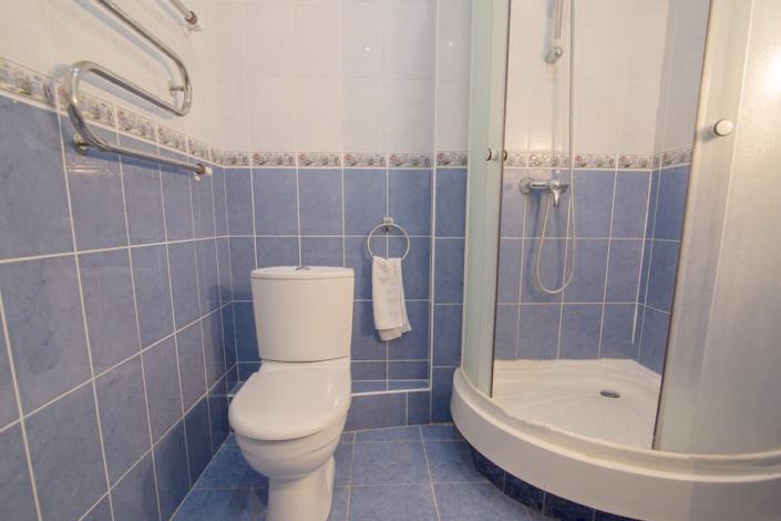 Туалетная комната номера Стандарт, Дачи № 4, 5 санатория Нижняя Ореанда