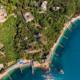 Вид на территорию и пляж санатория Нижняя Ореанда