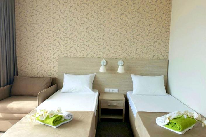 Стандарт двухместный в Club Resort Hotel Oasis, Алахадзы
