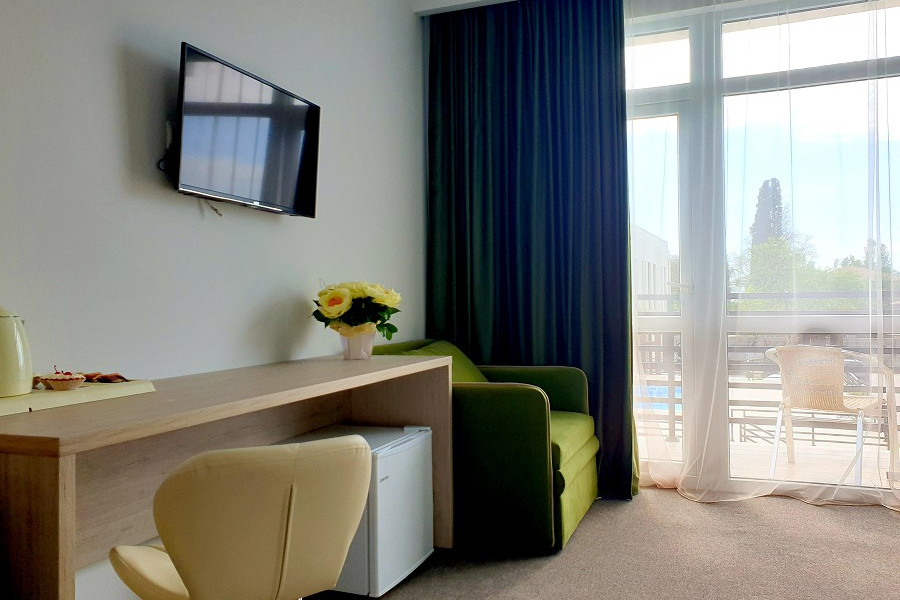 Улучшенный Супериор двухместный в Club Resort Hotel Oasis, Алахадзы