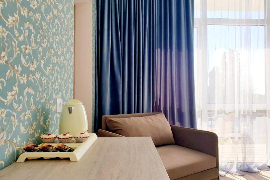 Семейный четырехместный двухкомнатный в Club Resort Hotel Oasis, Алахадзы