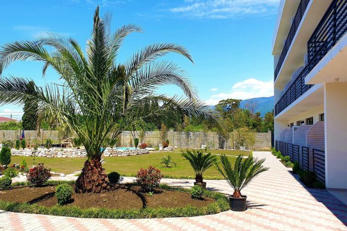 Территория Club Resort Hotel Oasis, Алахадзы