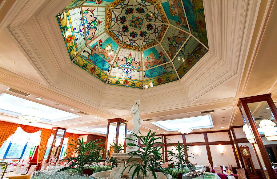 Ресторан Голубое пламя санатория Одиссея, Лазаревское, Сочи