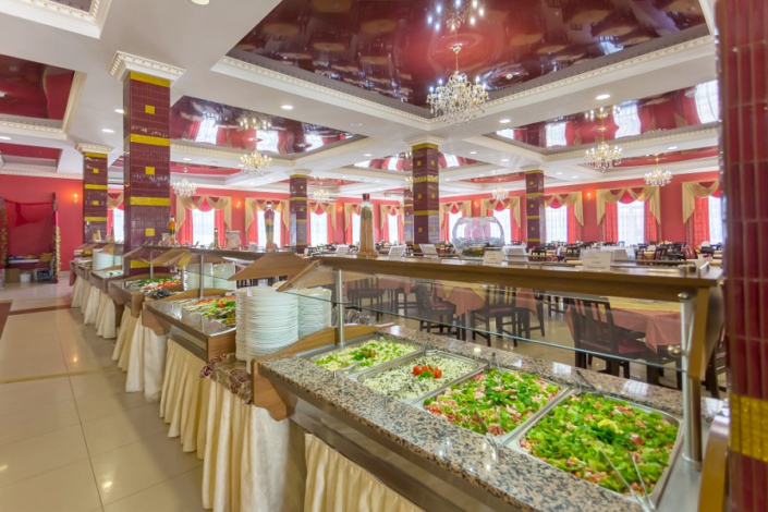 Ресторан Афина отеля Олимп